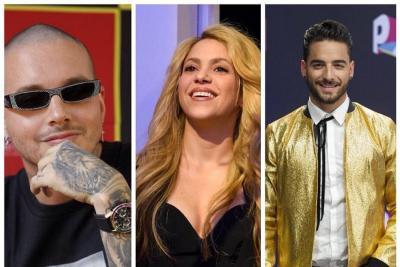 J Balvin, Shakira y Maluma fueron nominados a los Billboard 2018
