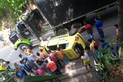 Un herido dejó accidente de tránsito en el Norte de Bucaramanga
