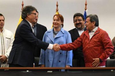 Mesa de diálogos con el Eln se trasladará a otro país garante