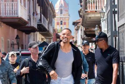 Vea el video de Will Smith en Cartagena que se ha vuelto viral en redes sociales