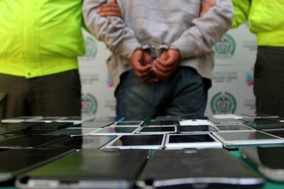 Cae en Bucaramanga presunto integrante de red trasnacional de robo de celulares