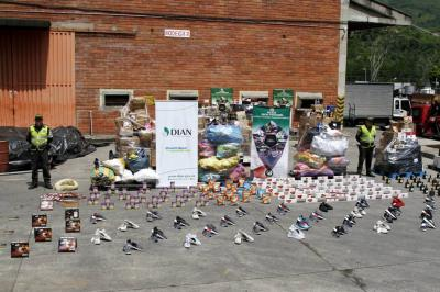 Así fue el operativo anticontrabando en Sanandresito Centro