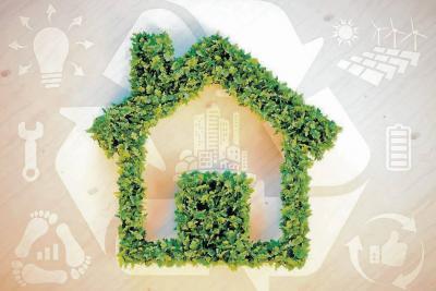 Construcciones sostenibles, ambientes amigables y ahorro de recursos