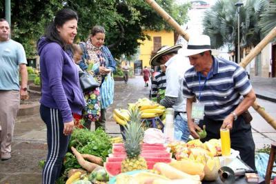 Mercado campesino, en homenaje a niños y niñas