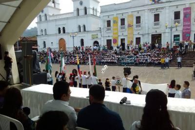 Ayer inauguraron los juegos intercolegiados Supérate 2018