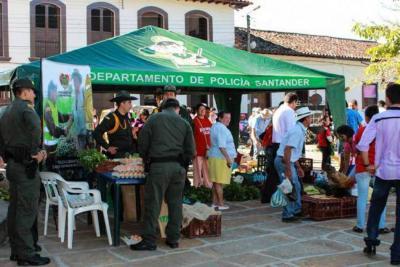 Oibanos se alistan para el mercado campesino