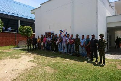 Autoridades dejaron 'pálidos' a integrantes de 'Los Amarillos'