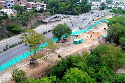 Avanza construcción de Parque Lineal Bomberos