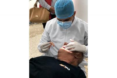 Se beneficiaron 27 víctimas del conflicto con prótesis dentales