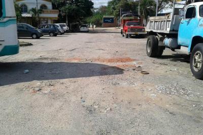 Villa Campestre solicita el arreglo de la malla vial