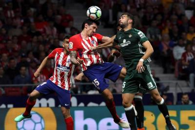 Atlético de Madrid y Betis empataron 0-0