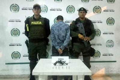 Niño resultó herido con arma de fuego en Bucaramanga