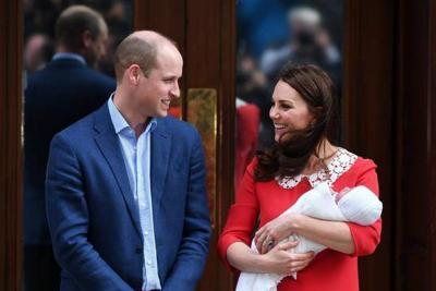 Nace el tercer hijo de los duques de Cambridge, en Reino Unido