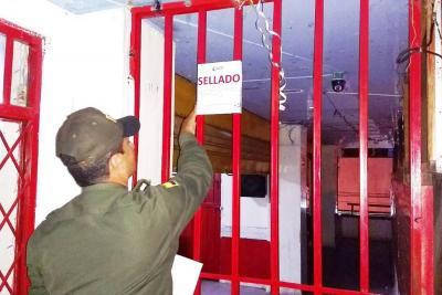 Cierre temporal de siete locales por incumplir Código de Policía