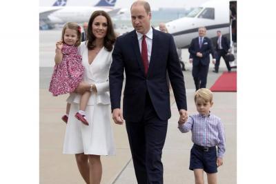 Kate Middleton dio a luz a su tercer hijo