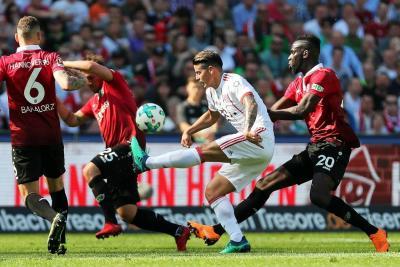 Liverpool recibe a la Roma  en una semifinal de sorpresa