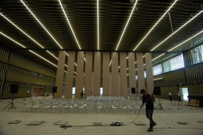 Se han invertido $81 mil millones en Centro de Convenciones de Bucaramanga y faltan obras