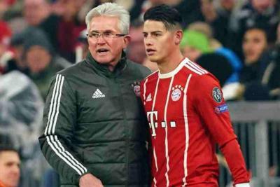 Jupp Heynckes dijo que los espectadores del Bayern están fascinados con James