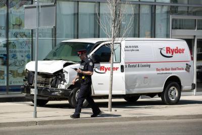 Masacre de Toronto no sería un acto terrorista, según autoridades