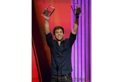 Enrique Iglesias, el 'rey' de los Premios