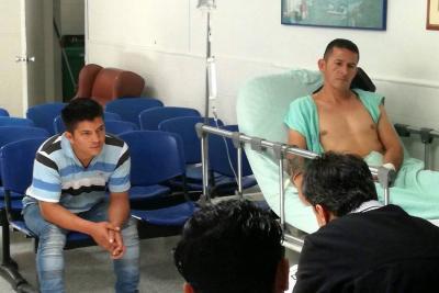 A la cárcel y a la casa: Destino de hombres que protagonizaron balacera en Bucaramanga
