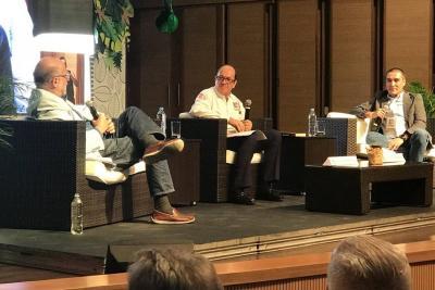 Daniel Samper y 'Matador' estuvieron presentes en el lanzamiento de Ulibro 2018