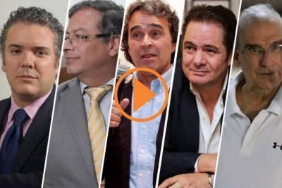 Mientras Duque cede terreno, Petro gana intención de voto presidencial en Santander