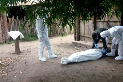 A machete asesinan a una persona en Santander