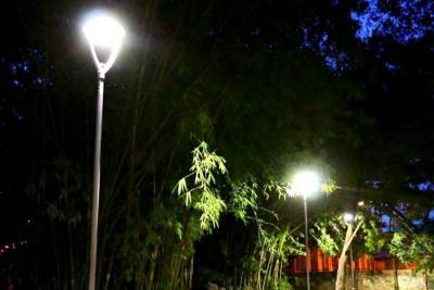 Ciudad Valencia se empezó a iluminar con tecnología LED