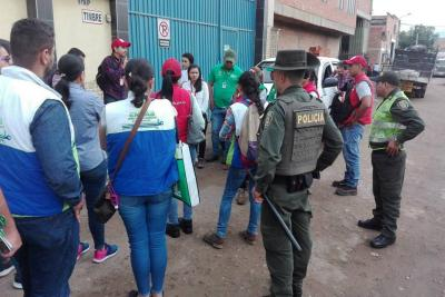 Control ambiental: inspeccionaron más de 110 negocios en zona industrial de Bucaramanga