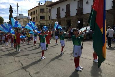 Liceo Santa Teresita celebró con acto cultural el mes de los niños