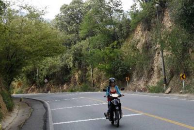 Así está la movilidad por cierre a un carril de la Vía a la Costa en Bucaramanga