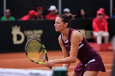 Colombiana Mariana Duque pasó a semifinales del Abierto de Charlottesville