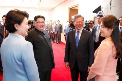 """""""Paz permanente"""", pacto tras el encuentro de las dos Coreas"""