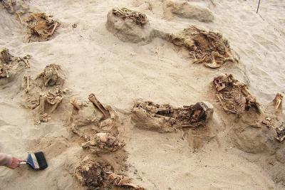 Sale a la luz el mayor sacrificio de niños de la América prehispánica en Perú