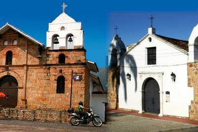 Un paseo por algunos de los primeros templos católicos del Área Metropolitana de Bucaramanga