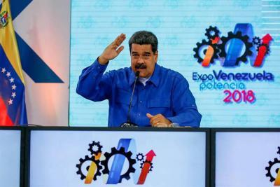Maduro subió el salario mínimo integral un 95 % en Venezuela
