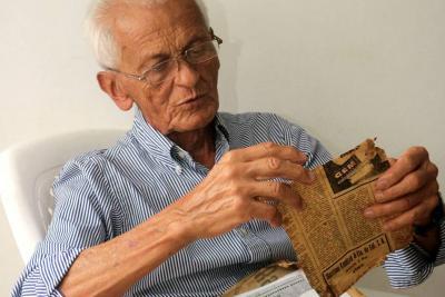 El 'Chivo Clausen', de campesino a pedalista en Santander