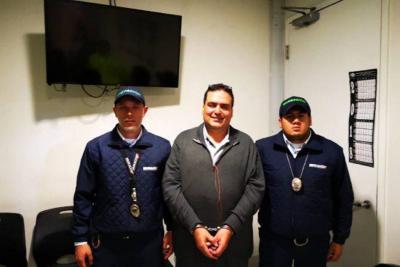 Capturan en aeropuerto de Bogotá al narcotraficante alias 'Gordo Lindo'