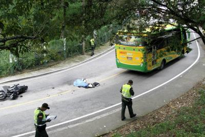 Estudiante universitario falleció en grave accidente de tránsito en Bucaramanga