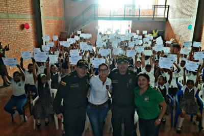 Estudiantes se graduaron como 'Buenos ciudadanos'