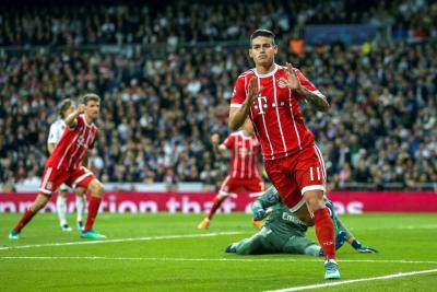 James marcó gol para el Bayern, pero Real Madrid pasó a la final de la Champions