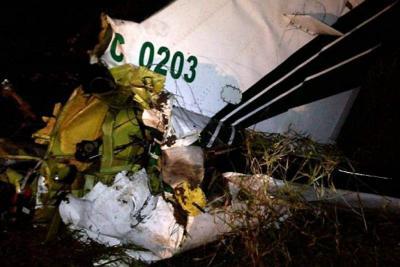 Accidente de avioneta deja cuatro policías muertos en Ibagué