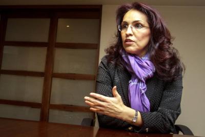 Viviane Morales renunció a su candidatura presidencial