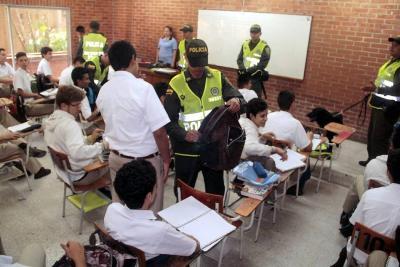 11 ataques físicos en colegios de Bucaramanga ocurren cada semana