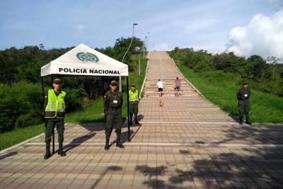 Con nuevo punto fijo policial se garantiza seguridad en La Cantera
