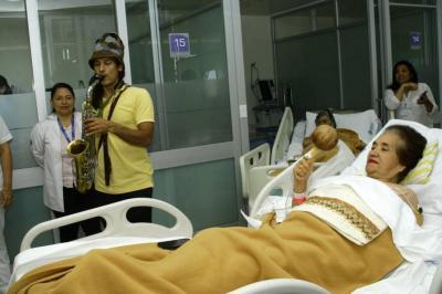 Humanizando los cuidados intensivos en Bucaramanga