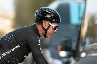 """Froome afirma que está preparado para ganar el Giro, """"pero será una carrera difícil"""""""