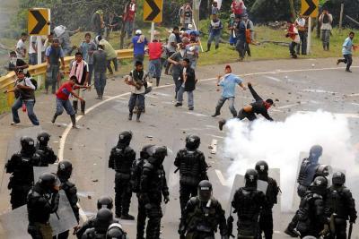 En 2017 se registraron 138 violaciones a DD.HH. en Colombia por agentes del Estado