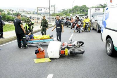 Intentaron linchar a conductor que se vio involucrado en accidente en Bucaramanga
